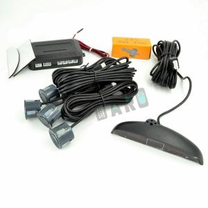 Senzori Parcare Gri Inchis cu display LED (set)