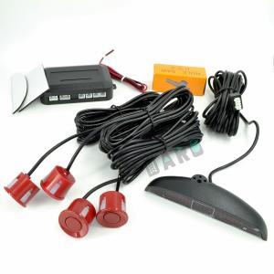 Senzori Parcare Rosu cu display LED (set)